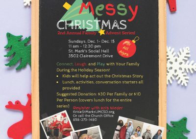 """""""Messy Christmas"""" Family Advent Series"""