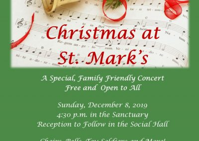 Concert: Christmas at St. Mark's